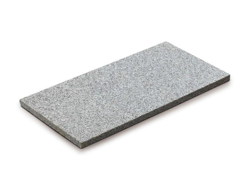 Granite outdoor floor tiles GRANITO BIANCO by GRANULATI ZANDOBBIO