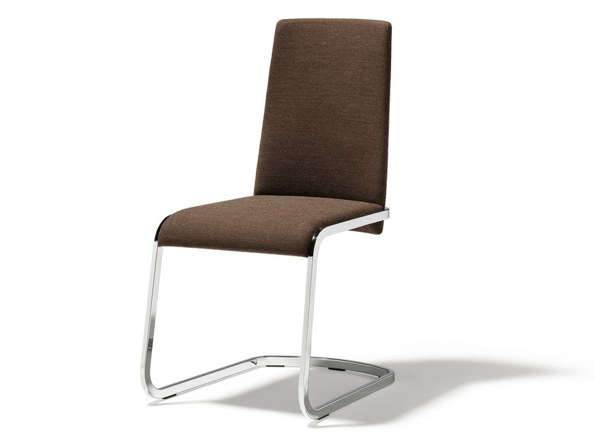 Cantilever fabric chair F1   Fabric chair by TEAM 7