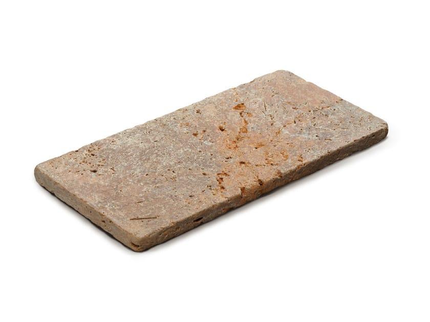 Travertine outdoor floor tiles TRAVERTINO ROSA by GRANULATI ZANDOBBIO