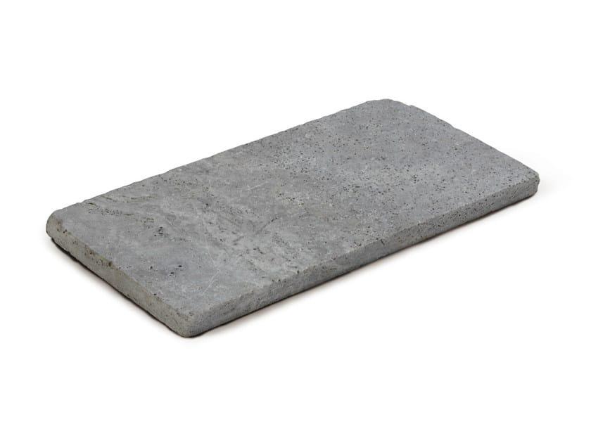 Travertine outdoor floor tiles TRAVERTINO SILVER by GRANULATI ZANDOBBIO