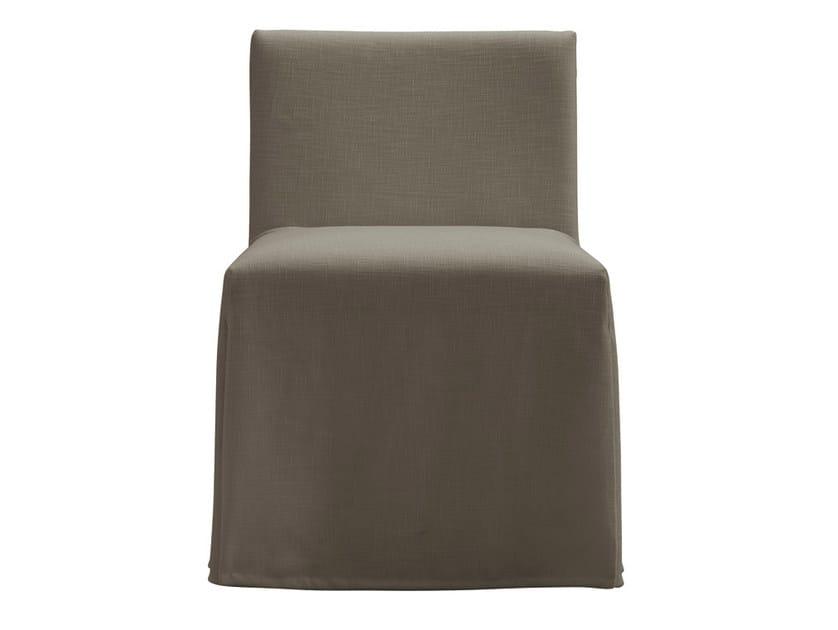 Upholstered chair VELVET DUE | Chair by poliform