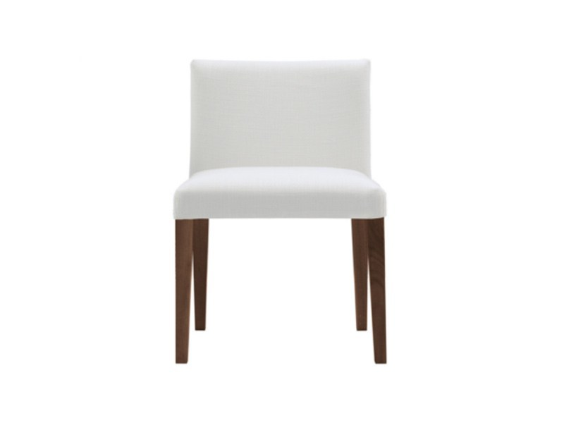 Upholstered fabric chair VELVET | Fabric chair by poliform