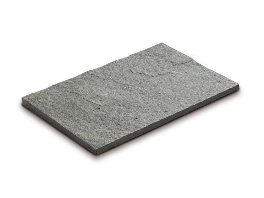 Quartzite outdoor floor tiles QUARZITE ARGENTO by GRANULATI ZANDOBBIO