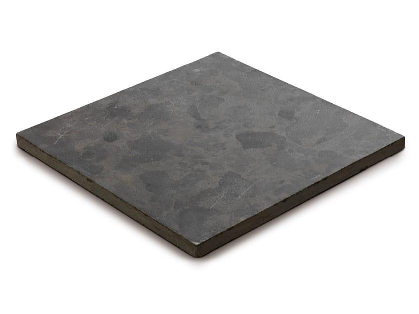 Calcareous stone outdoor floor tiles BLUESTONE by GRANULATI ZANDOBBIO