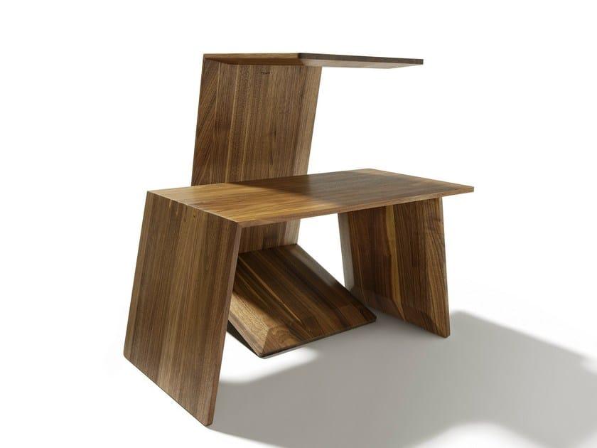 Solid wood coffee table SIDEKICK by TEAM 7