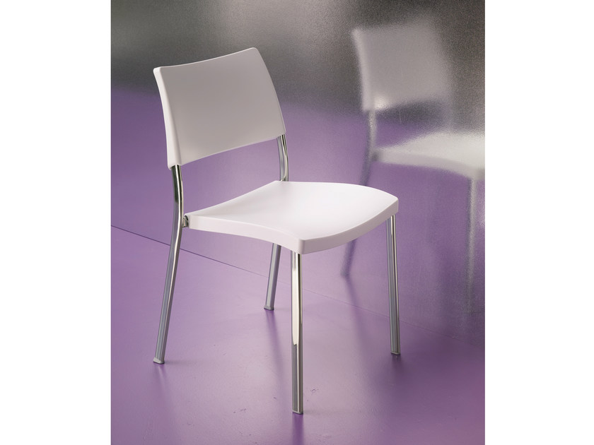 Polypropylene chair LIZ by Bontempi