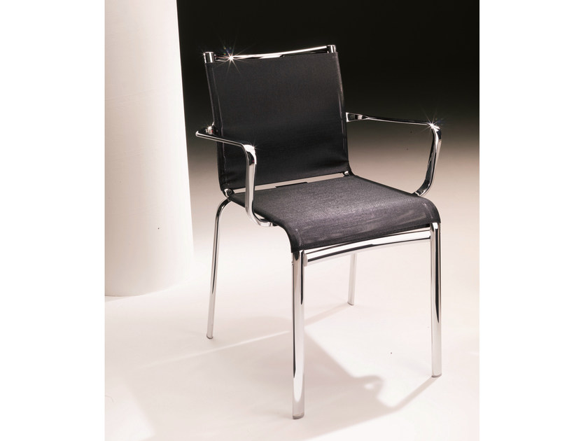 Texplast chair with armrests NET | Chair with armrests by Bontempi
