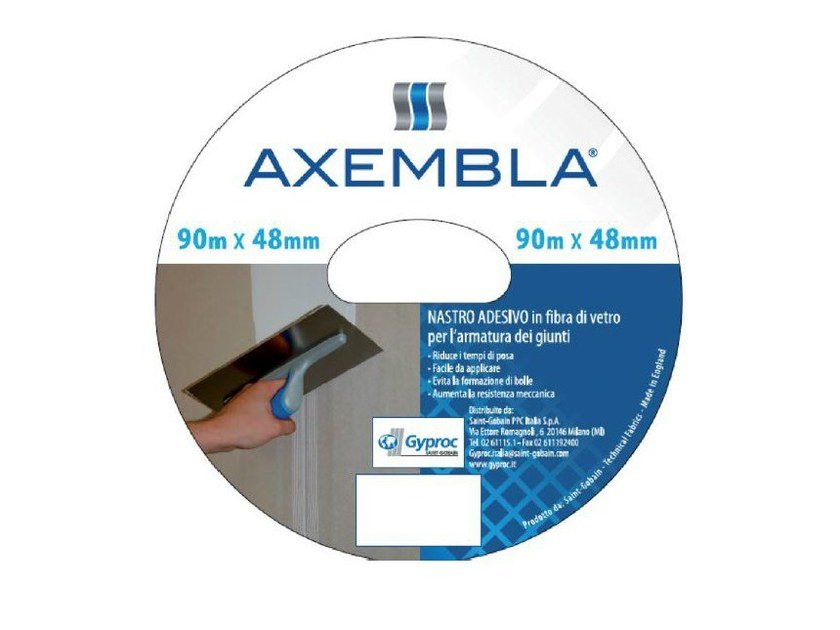 Glass-fibre Steel mesh for base layer for flooring AXEMBLA by Saint-Gobain Gyproc