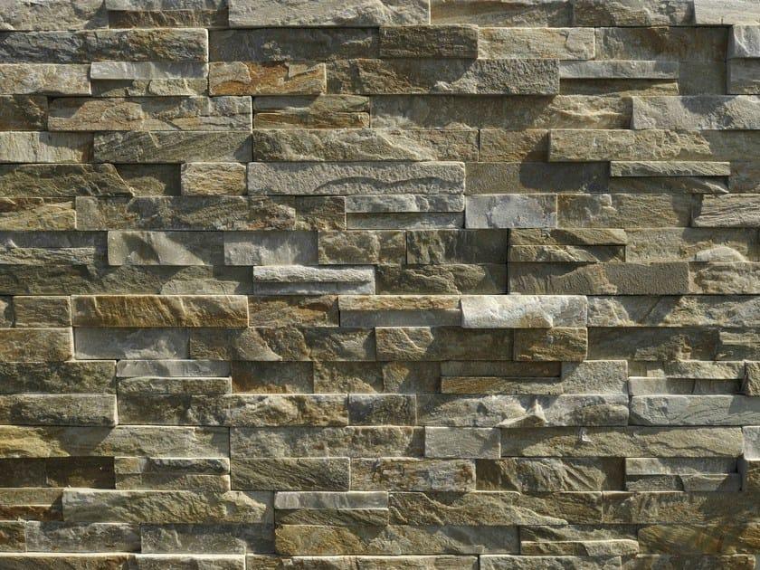 Quartzite wall tiles GOLDEN QUARZITE by GRANULATI ZANDOBBIO