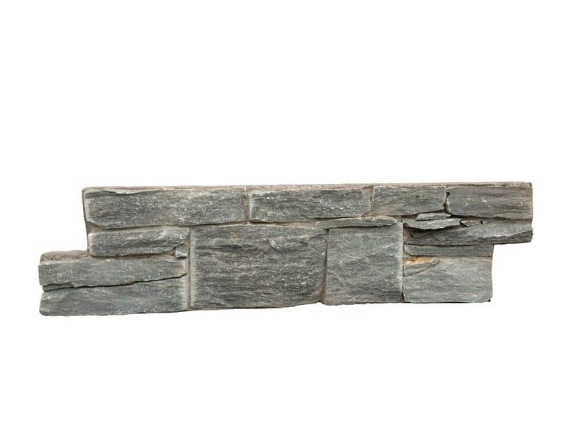 Outdoor quartzite wall tiles QUARZITE VERDE by GRANULATI ZANDOBBIO