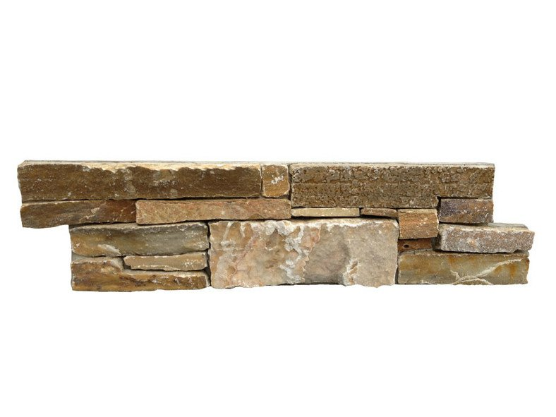 Outdoor quartzite wall tiles QUARZITE GIALLA by GRANULATI ZANDOBBIO