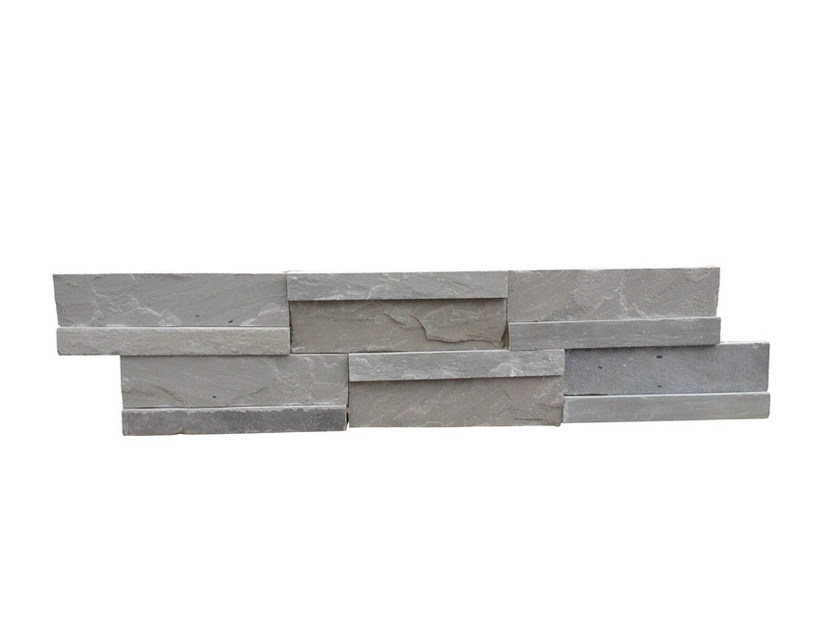 Outdoor natural stone wall tiles AUTUMN GREY | Wall tiles by GRANULATI ZANDOBBIO