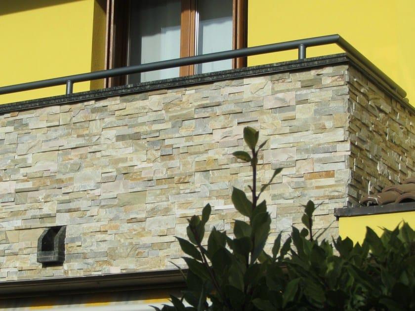 Outdoor natural stone wall tiles MINT | Wall tiles by GRANULATI ZANDOBBIO