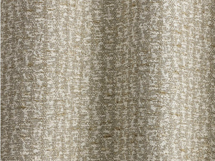 Boucle fabric for curtains GINGER by Dedar