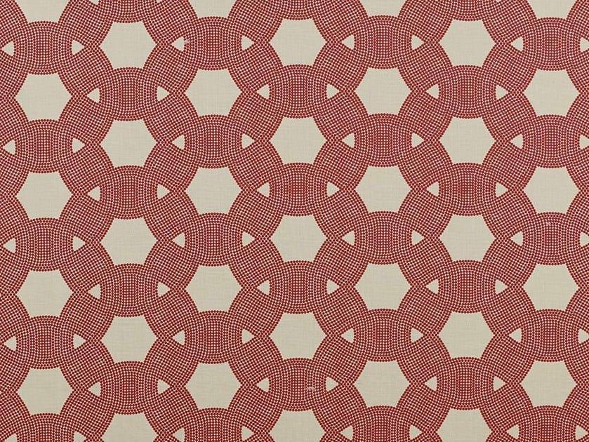Dotted linen fabric D-DOTS by Dedar