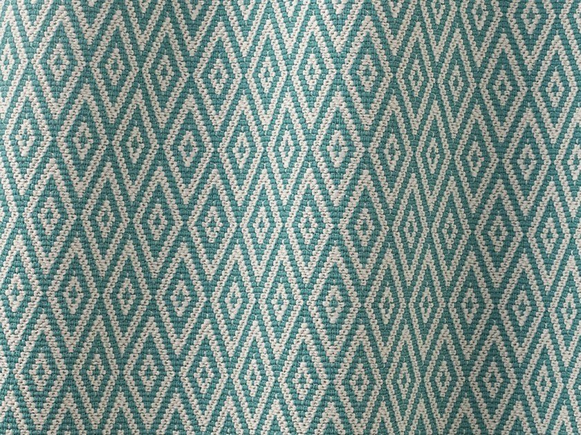Anti-bacterial washable Outdoor synthetic fibre fabric BASQUETTE by Dedar