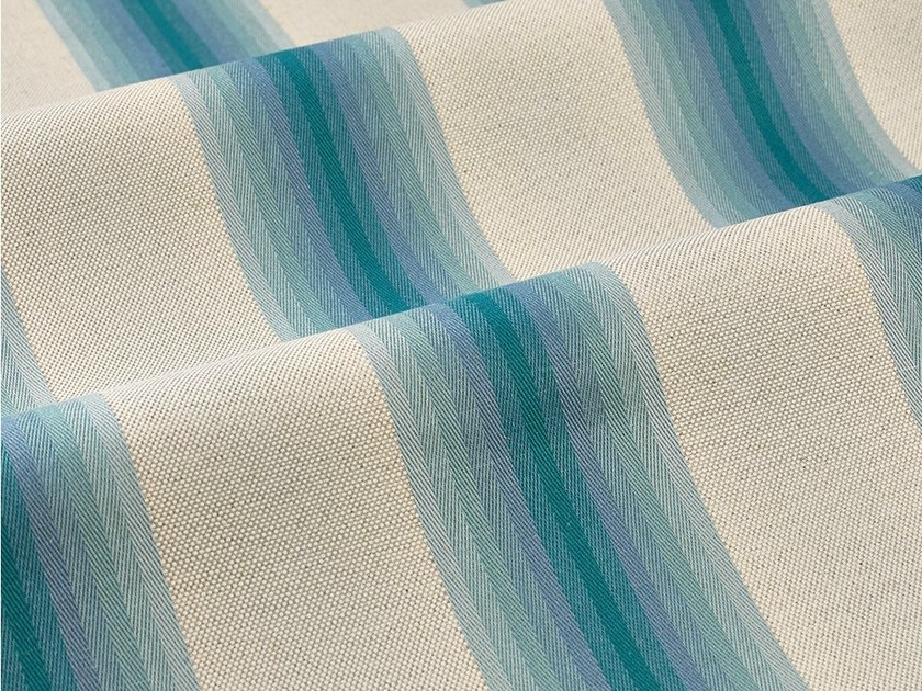Striped upholstery fabric SEVEN SHADES by Dedar