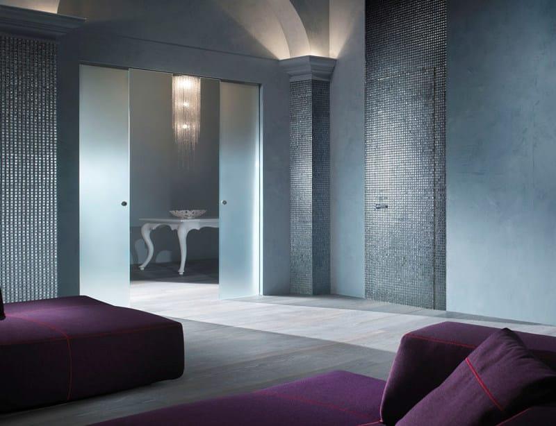 ESSENTIAL | Porta a battente Porta a filo muro - Essential by Scrigno anta doppia scorrevole e porta battente