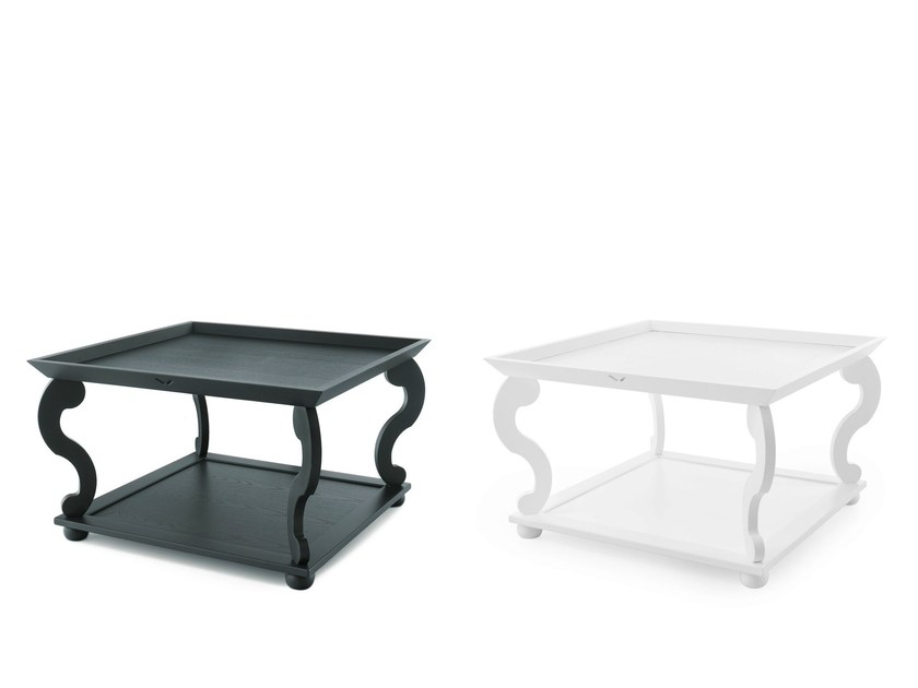 Solid wood coffee table LEEDS | Coffee table by Minacciolo