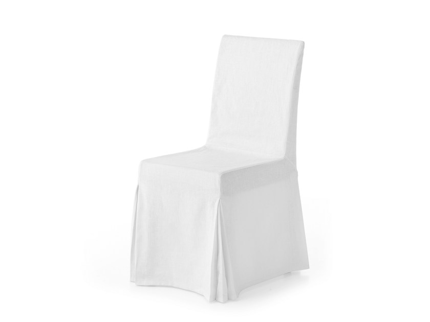 Upholstered fabric chair BANON by Minacciolo