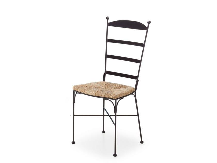 Metal chair ETON by Minacciolo