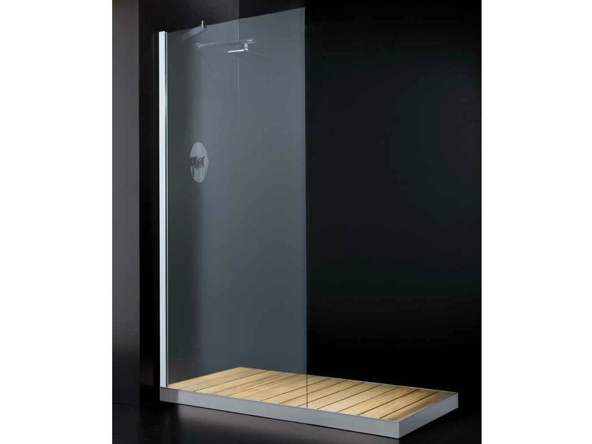 Crystal shower wall panel ELITE F01 by RARE
