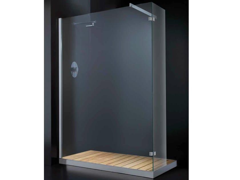 Corner crystal shower cabin ELITE F03 by RARE