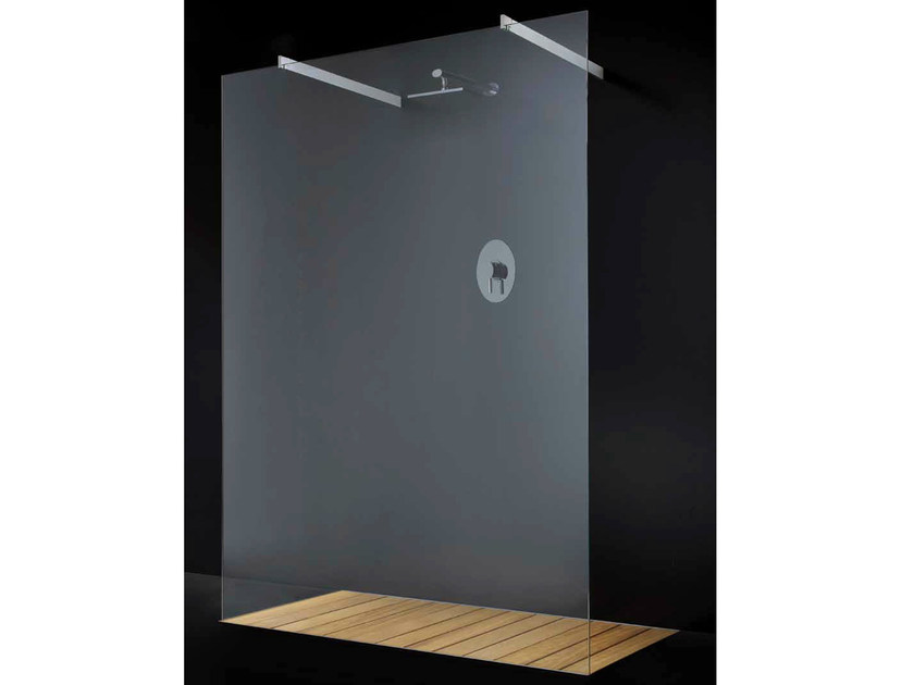 Crystal shower wall panel ELITE F04 by RARE