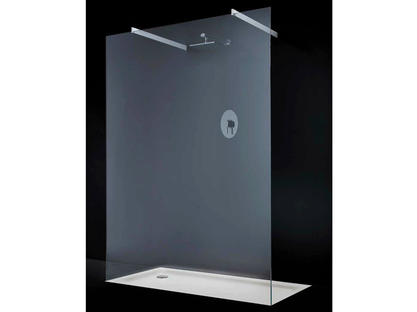 Crystal shower wall panel OPEN SPACE F04 by RARE
