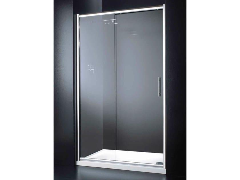 Niche glass shower cabin with sliding door INN B03 by RARE