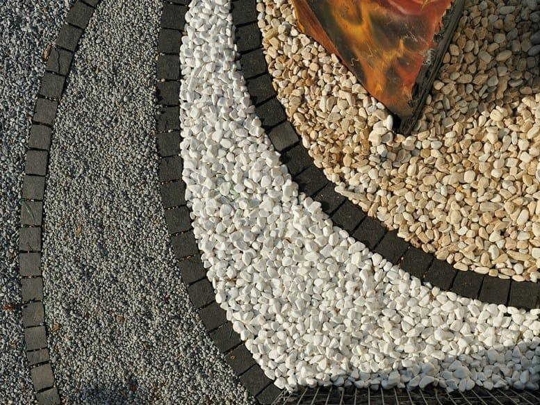 Ciottoli da giardino in marmo