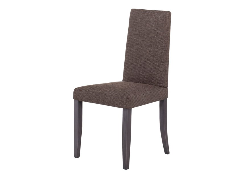 Upholstered fabric chair BELAMAR by AZEA