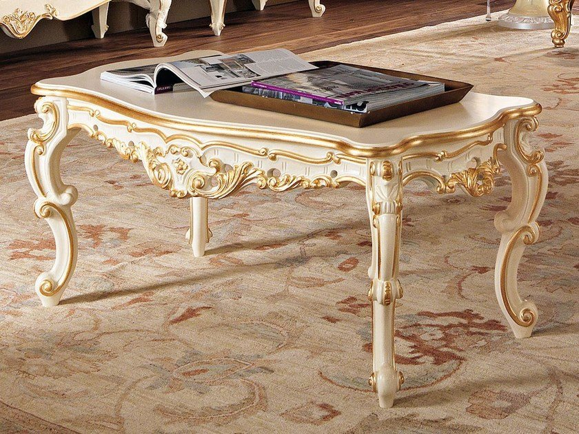 Low solid wood coffee table 11616 | Coffee table by Modenese Gastone