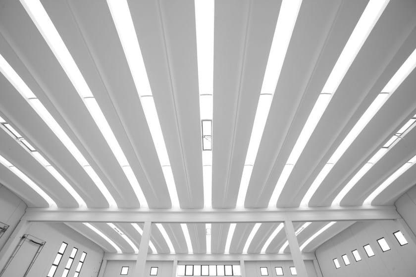 Precast reinforced concrete roof ALIANT by Baraclit