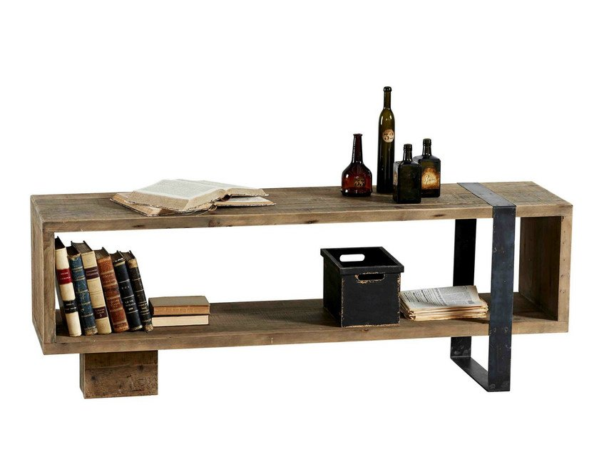 Rectangular wooden console table DB003599 | Console table by Dialma Brown