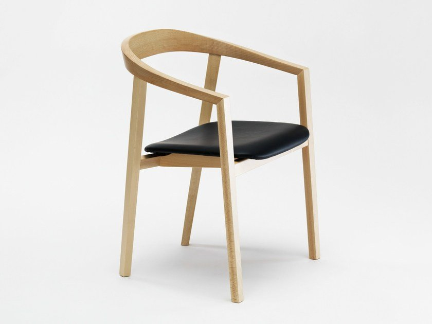 Upholstered beech chair RO | Upholstered chair by Zilio A&C