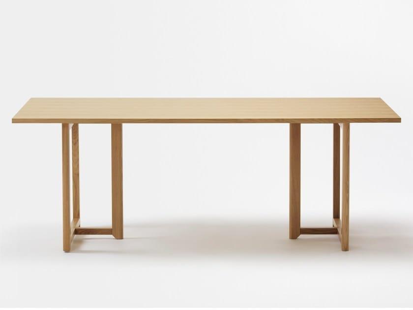 Rectangular beech table SELERI | Table by Zilio A&C