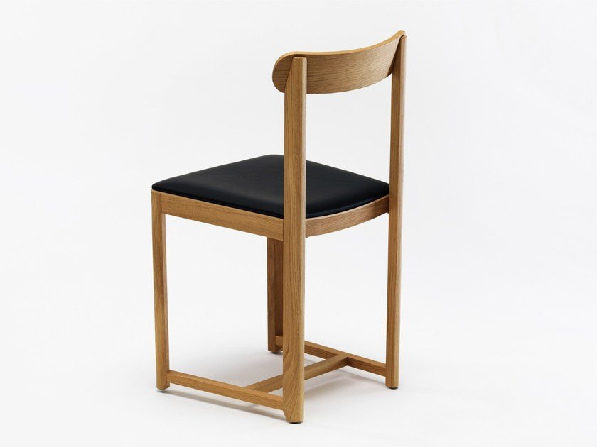Upholstered wooden chair SELERI | Upholstered chair by Zilio A&C