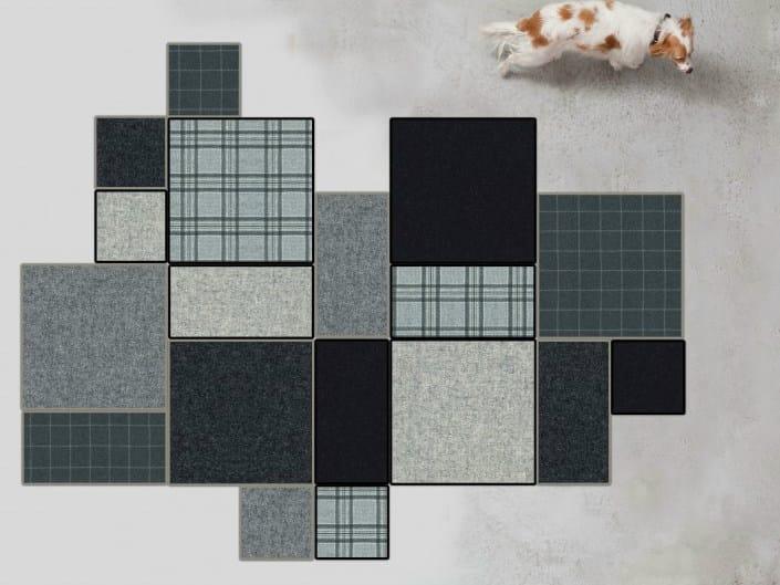 Patchwork rug BUZZIRUG PATCH by BuzziSpace