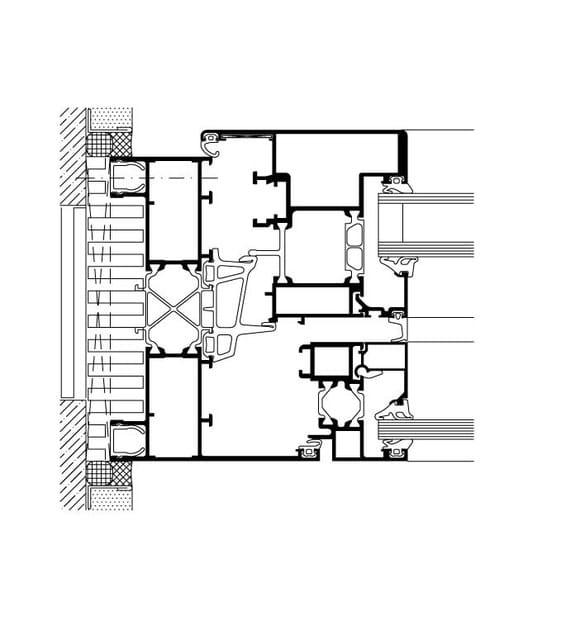 WICLINE 125 | Finestre accoppiate