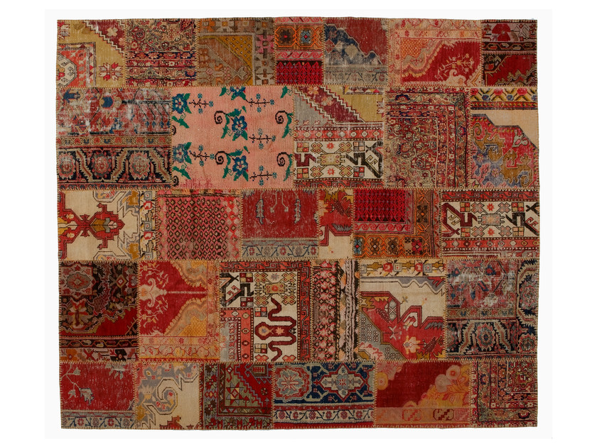 Vintage style patchwork rug PATCHWORK CLASSIC by Golran