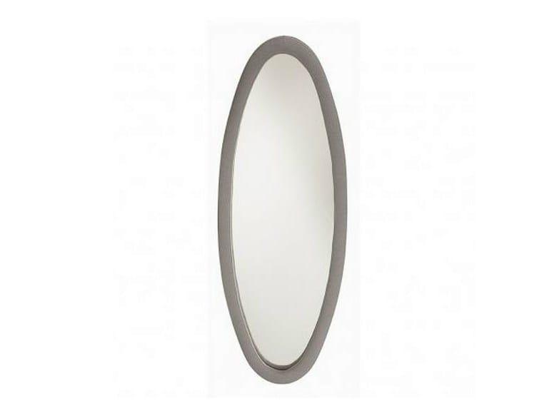 Oval wall-mounted framed mirror DEMOISELLE | Oval mirror by GAUTIER FRANCE