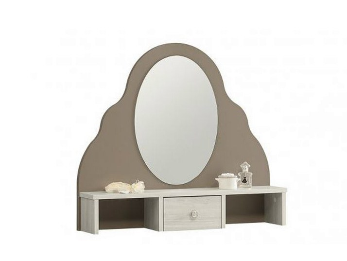 Oval mirror with cabinet DEMOISELLE | Mirror with cabinet by GAUTIER FRANCE