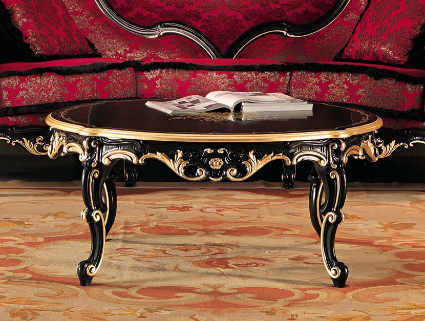 Low solid wood coffee table 11614 | Coffee table by Modenese Gastone
