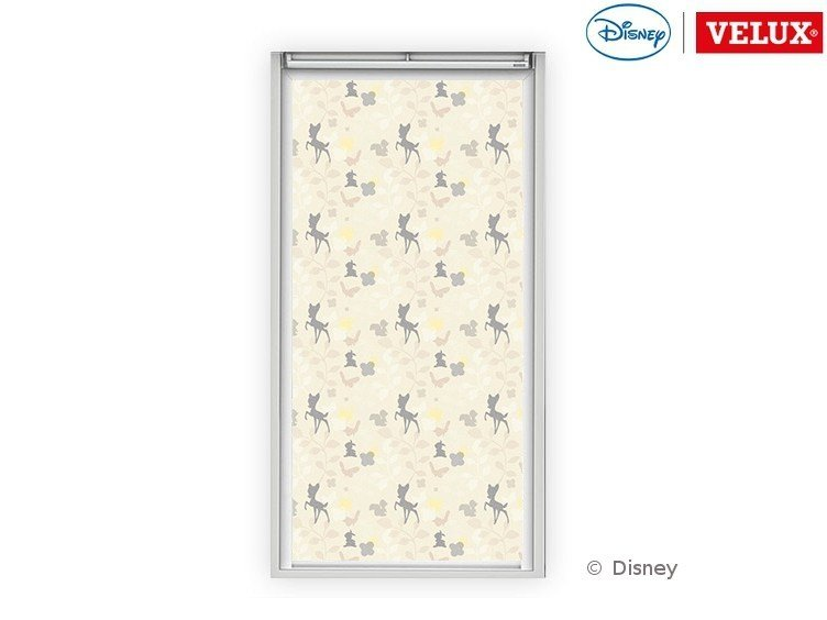 Dimming fabric skylight shade Bambi 1 by Velux