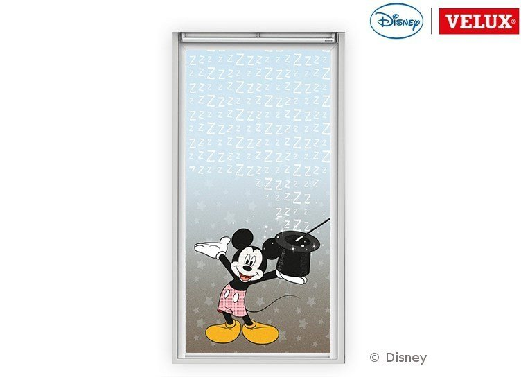Dimming fabric skylight shade Mickey 2 by Velux