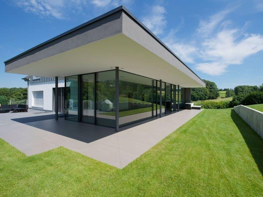 Aluminium sliding window KELLER minimal windows®4+ by Keller