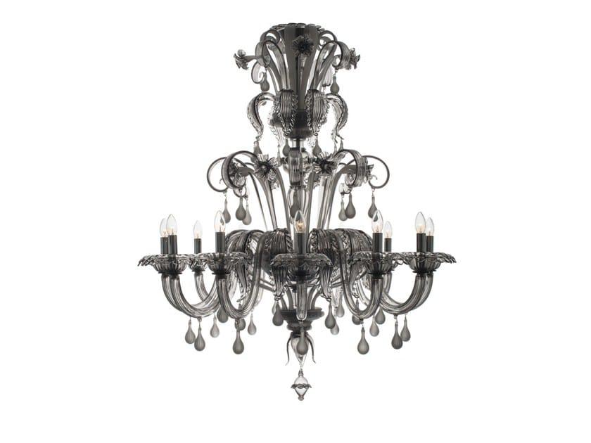 Murano glass chandelier ALPAGA by Veronese