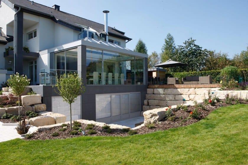 filigrane winterg rten aus aluminium keller glasshouse by keller. Black Bedroom Furniture Sets. Home Design Ideas