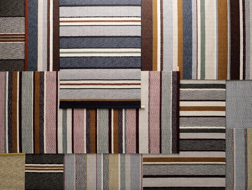 Striped wool rug INGRID IN STRIPES by Kasthall